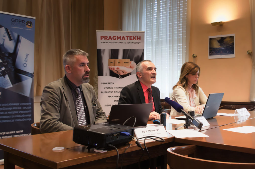 GDPR Institute press konferencija – rezultati istraživanja: Poznavanje zaštite osobnih podataka